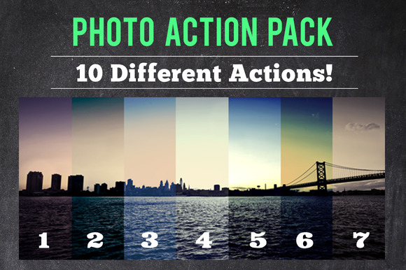 Photo Action Pack