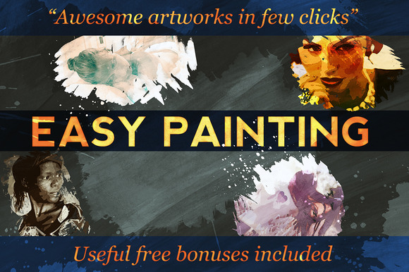 Easy Painting Effects Set