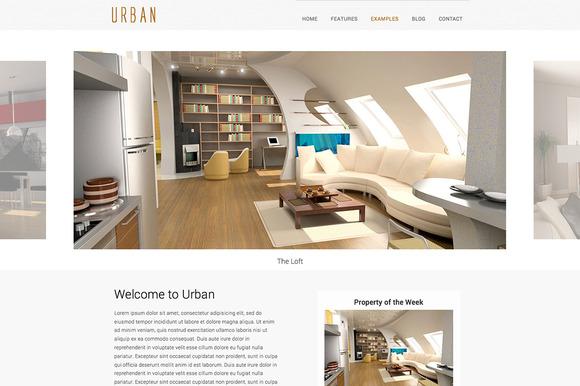 Urban Html5 Template