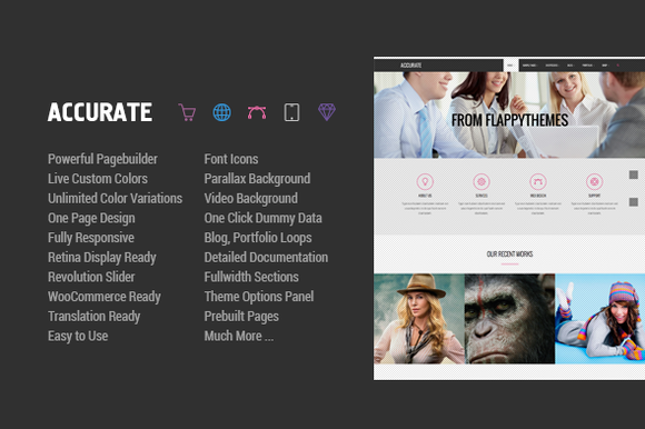 Accurate MultiPurpose WP Theme