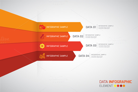 Vector Data Infographics