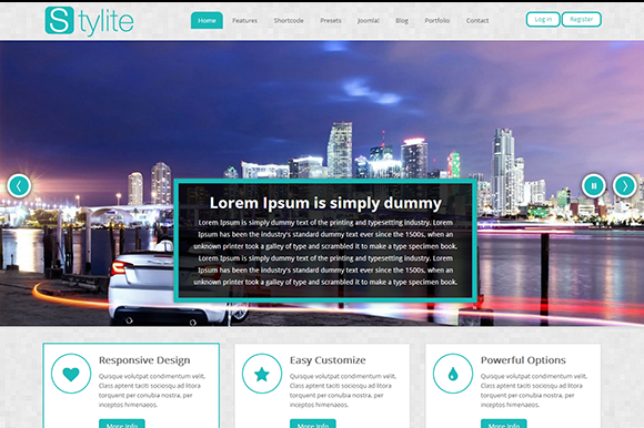 TM Stylite-Bootstrap Joomla Template