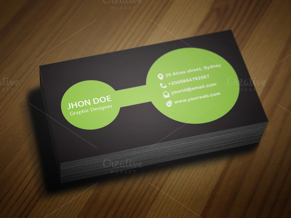 Bonding Business Card Template