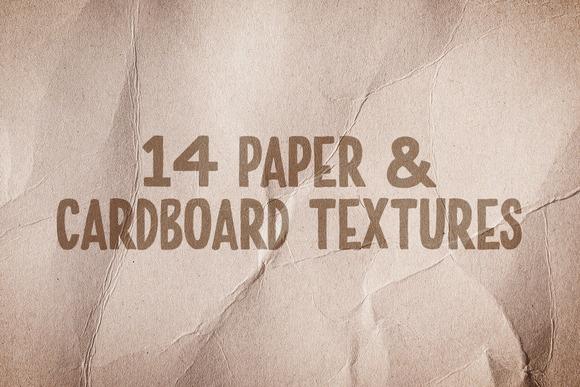 Paper Cardboard Texture Pack Vol 2