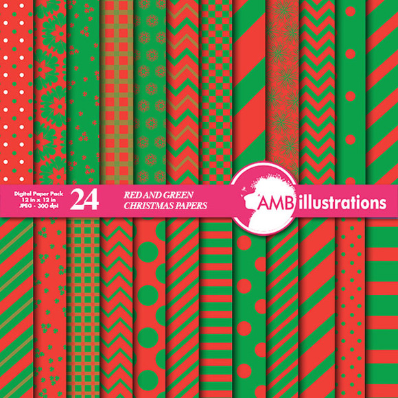 Mix Christmas Papers AMB-549