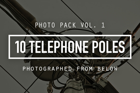 Telephone Poles Photo Pack