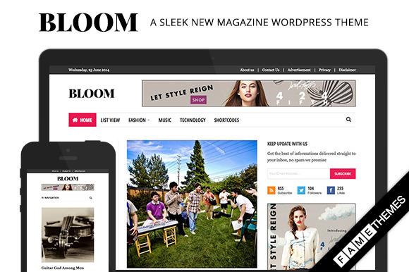 Bloom A Sleek New Magazine Theme