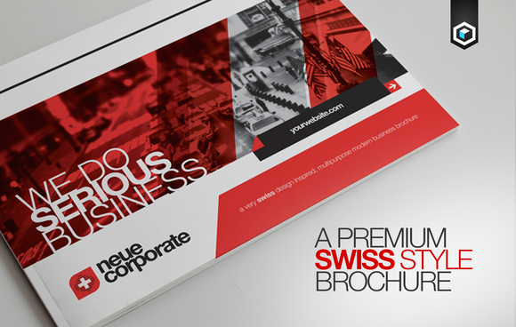 RW Swiss Modern Corporate Brochure
