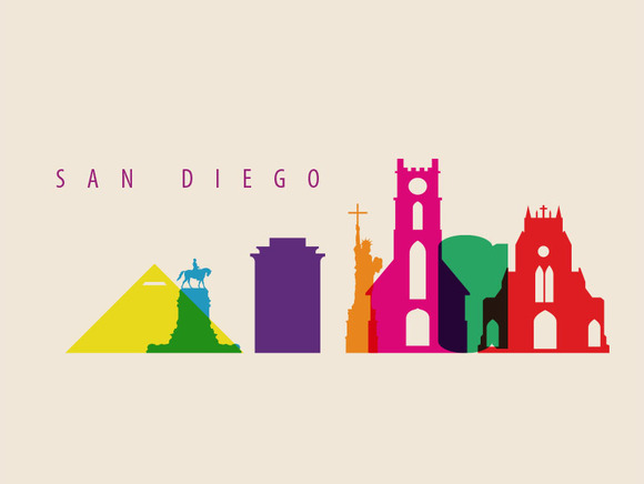 San Diego City Landmarks