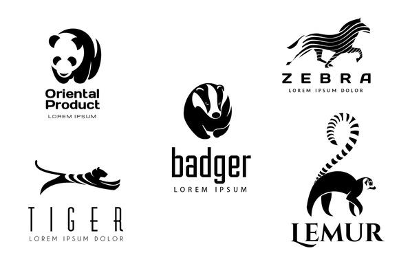 Animal Logos Set 2