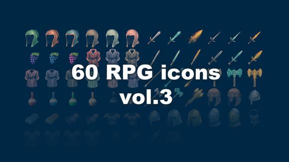 Fantasy RPG Items Vol 3