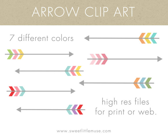 Arrow Clip Art Arrows