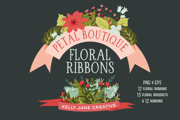 Floral Ribbons Bouquets