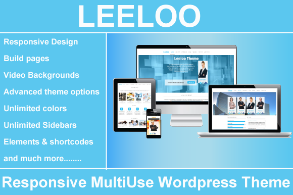 LeeLoo-Responsive MultiUse Wordpress