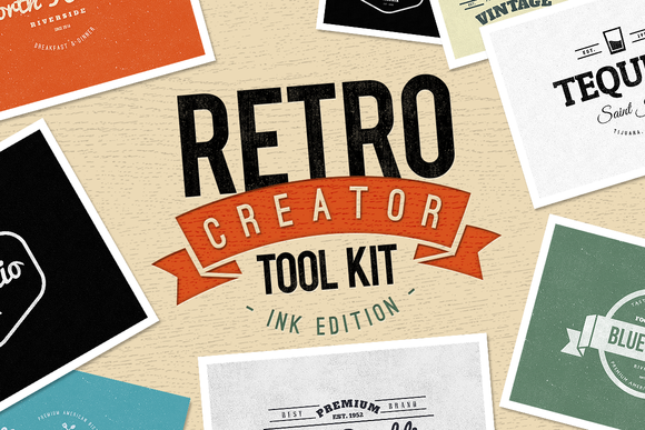 Retro Creator Tool Kit Ink Edition