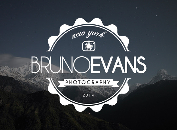 Premium Photography Hipster Logo