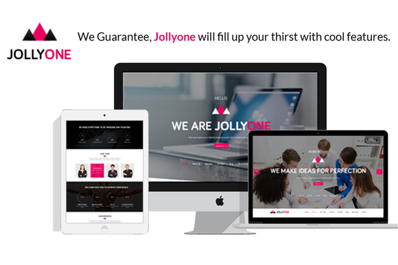 Jollyone One Page Site Template