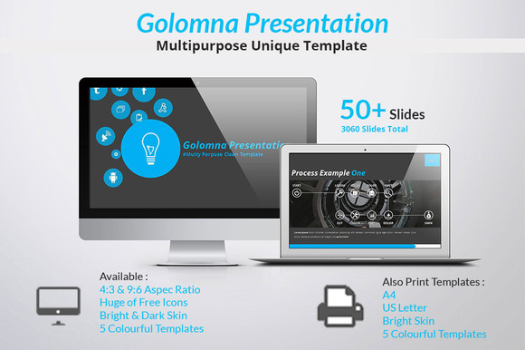 Golomna Multipurpose PowerPoint