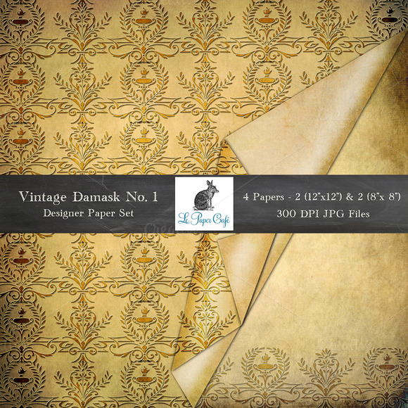Vintage Designer Folded Backgrounds