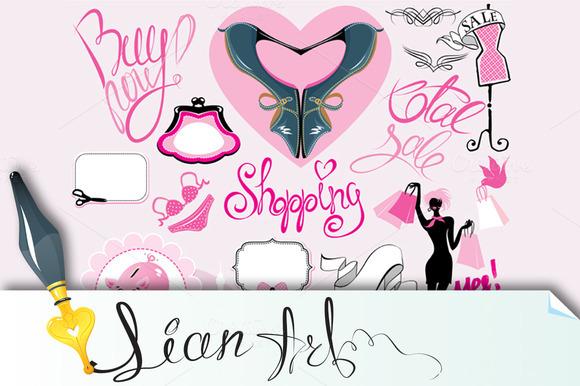 Elements For Fashion Or Retail Desig