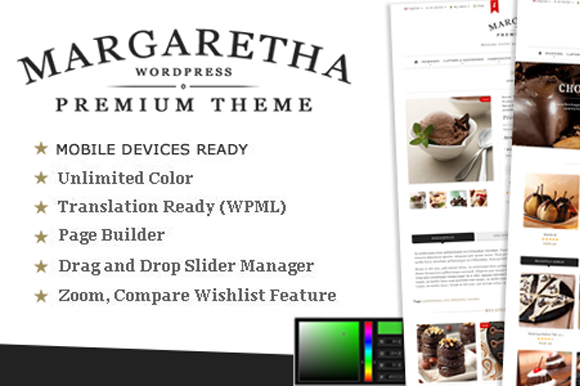 Margaretha Woocommerce Premium The