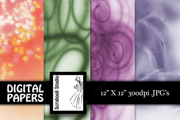 8 Decorative Airbrush Textures