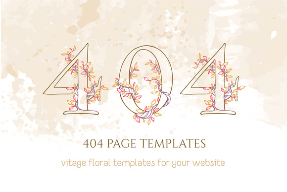 404 Page Templates