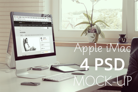 Desktop Mock-Up Set