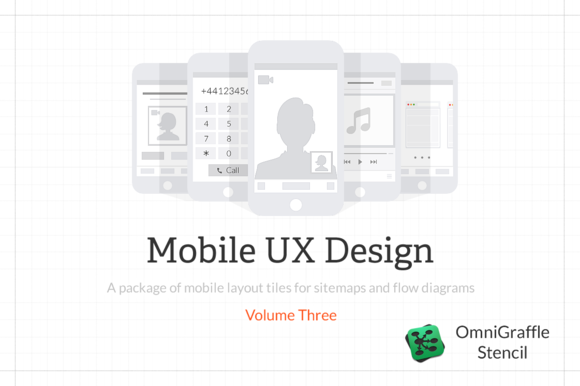 Mobile UX Design Tiles V3