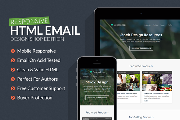 Design Shop Responsive Email