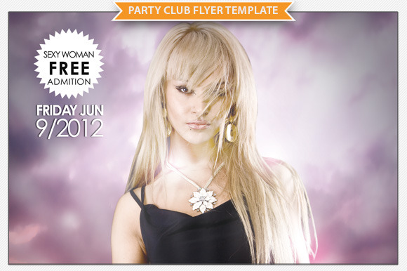 Party Club Flyer Template