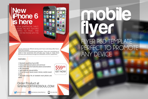 MOBILE PRODUCT FLYER ONLY 4$