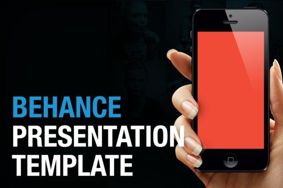 Behance Presentation Template