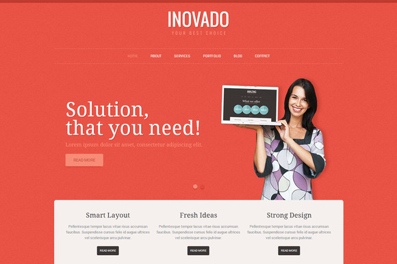 Inovado Business WordPress Theme