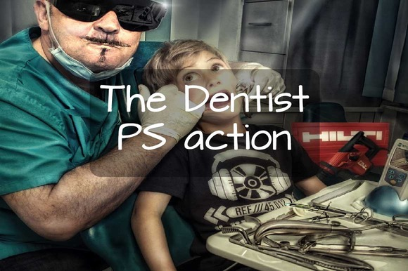 The Dentist Photoshop Action
