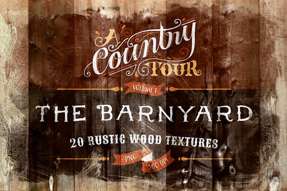 The Barnyard 20 Wood Textures