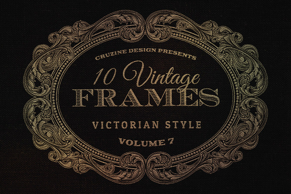 10 Frames Vol.7 Victorian Ornament