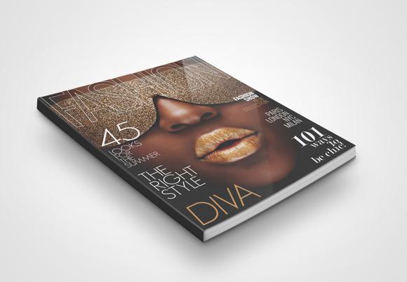 Magazine Cover Template 2