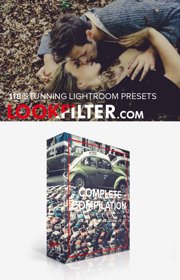118 Stunning Lightroom Presets Set