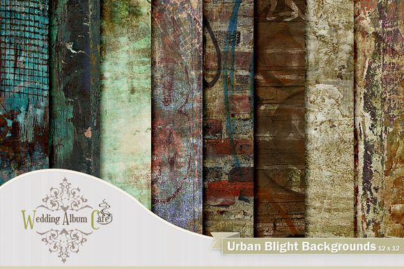 Urban Blight Backgrounds