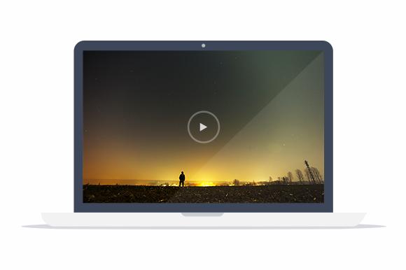Flat MacBook Pro Mockup