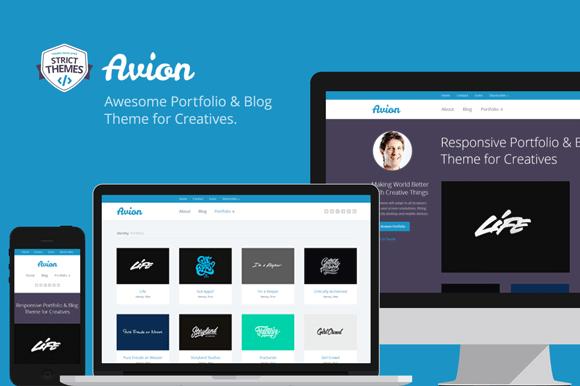 Avion Portfolio Blog For Creatives