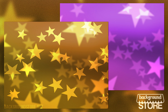 Stars Abstract Backdrop