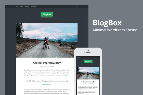 BlogBox Responsive WordPres Theme