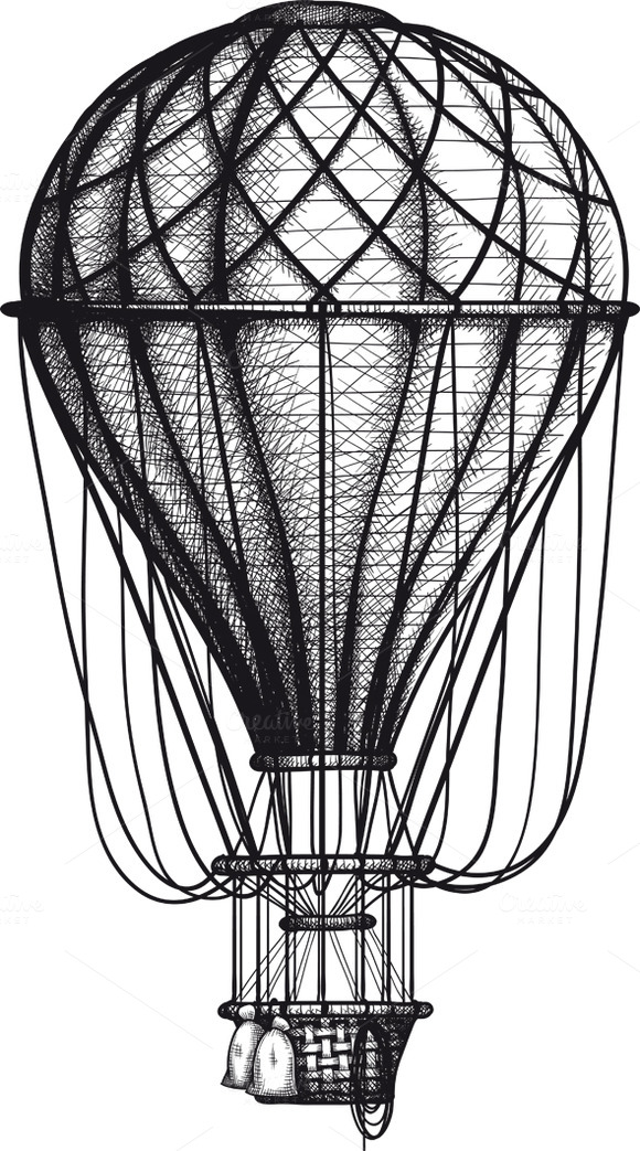 Old Air Ballon