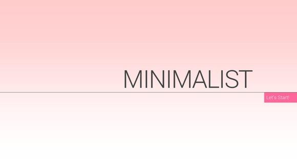 Minimalist Showcase PowerPoint