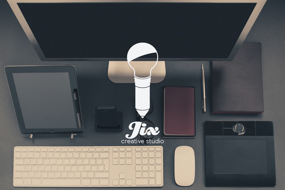 Jix Creative Studio Logo Template
