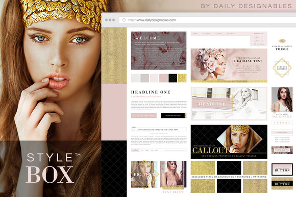 Style Box Pink Gilt Dream