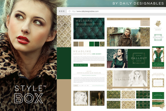 Style Box Emerald Gold Riches