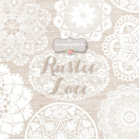 Linen Wood Lace Clipart
